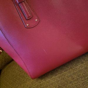 Michael Kors Bags - Brick Red Medium Voyager Tote Michael Kors